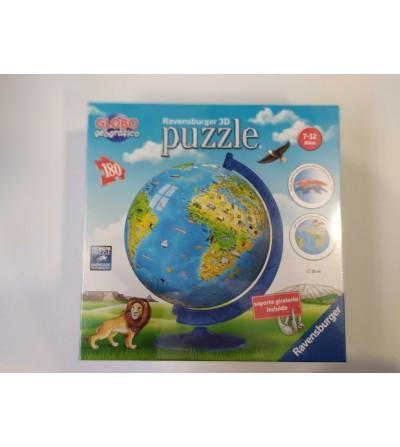 Puzzle 3D Bola del mundo