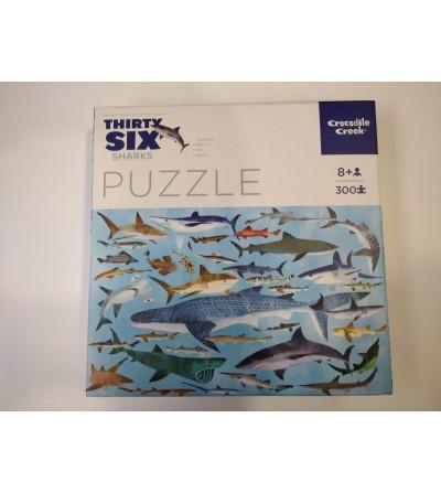 Puzzle tiburones